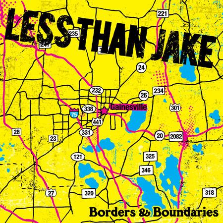 Less Than Jake - Borders And Boundaries (relançamento)