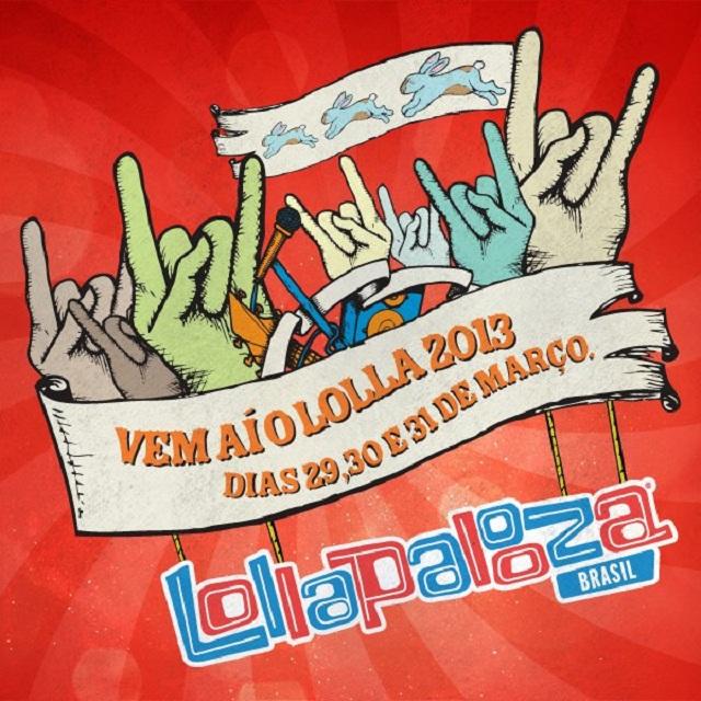 Ingressos para o Lollapalooza Brasil começam a ser vendidos amanhã
