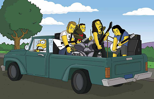 Metallica nos Simpsons
