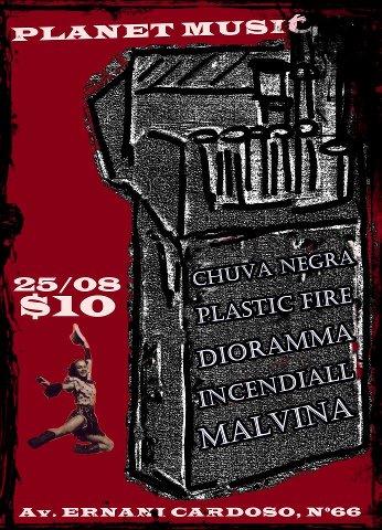 Promoção: CDs + Ingresso Para o Show Que Marca A Volta da Chuva Negra ao Rio de Janeiro