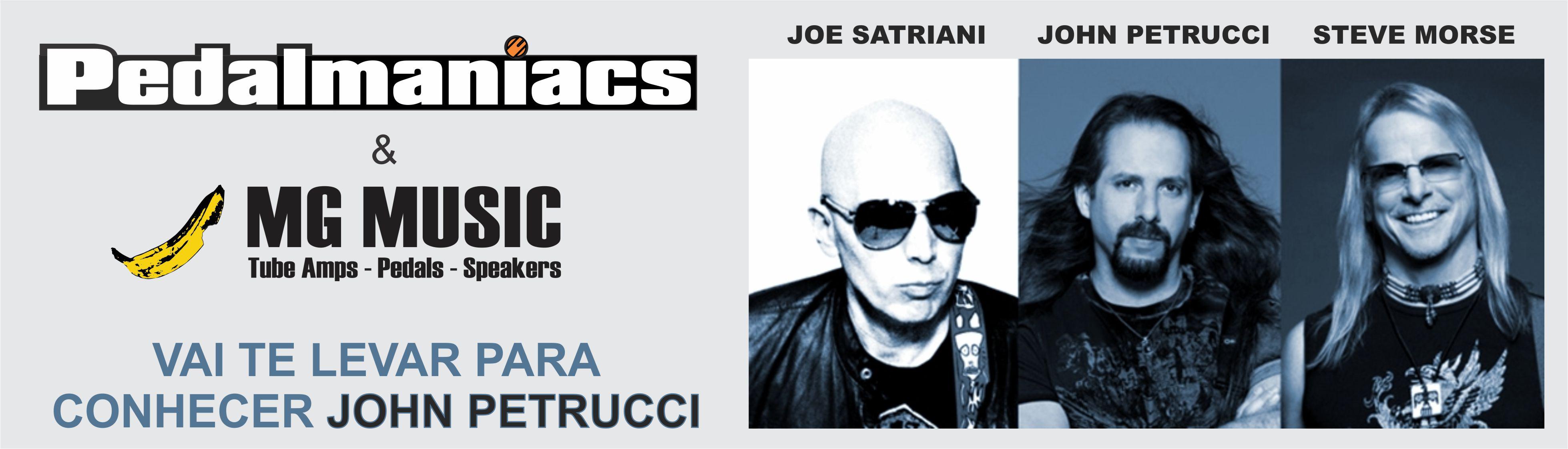promoção pedalmaniacs mg music G3 Dream Theater John Petrucci