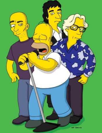 R.E.M. nos Simpsons