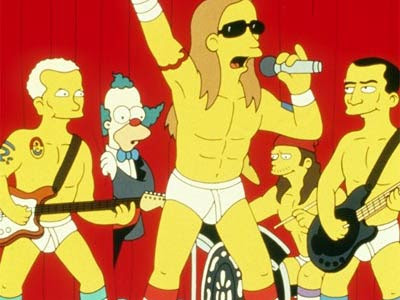 Red Hot Chili Peppers - Simpsons