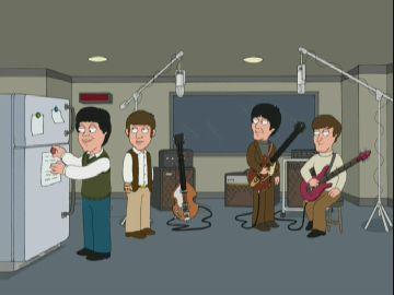 The Beatles em Uma Família Da Pesada