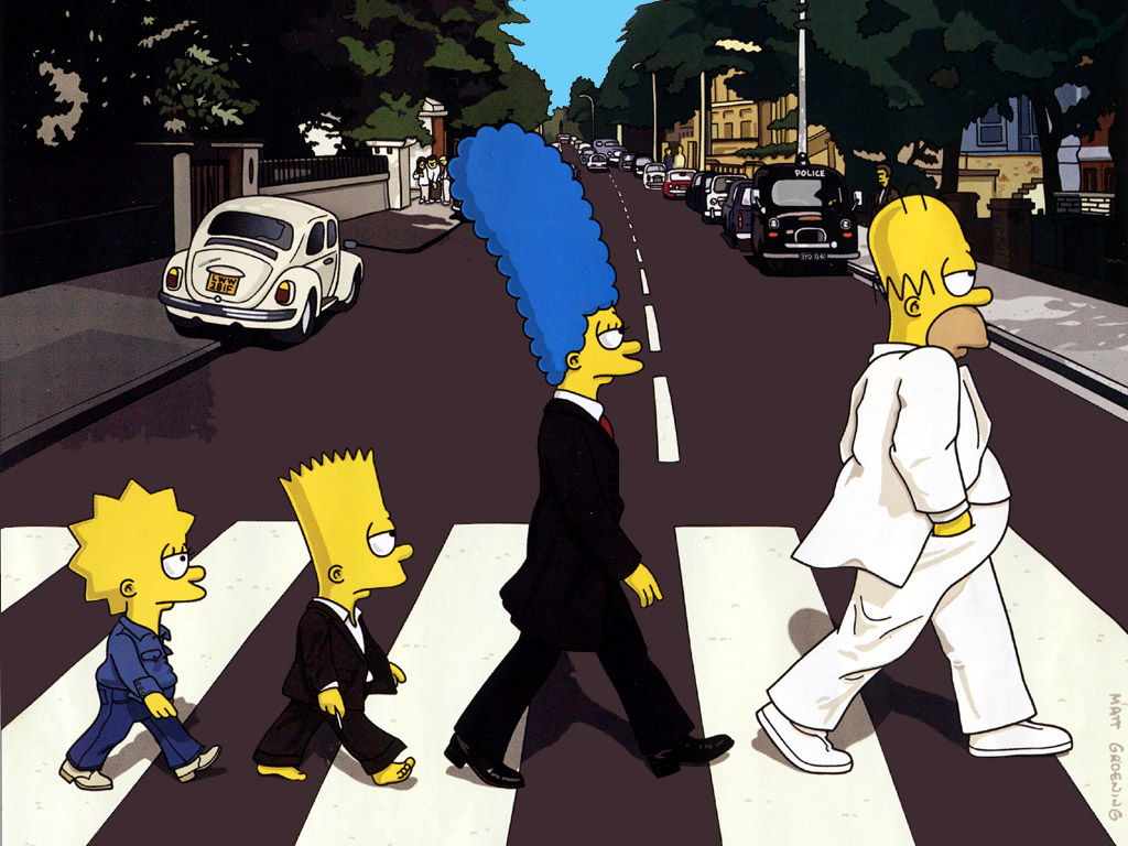 The Beatles nos Simpsons