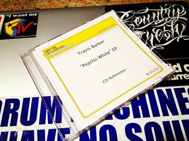 Travis Barker - Psycho White