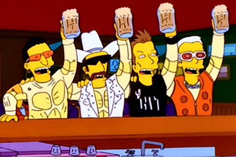 U2 no Simpsons