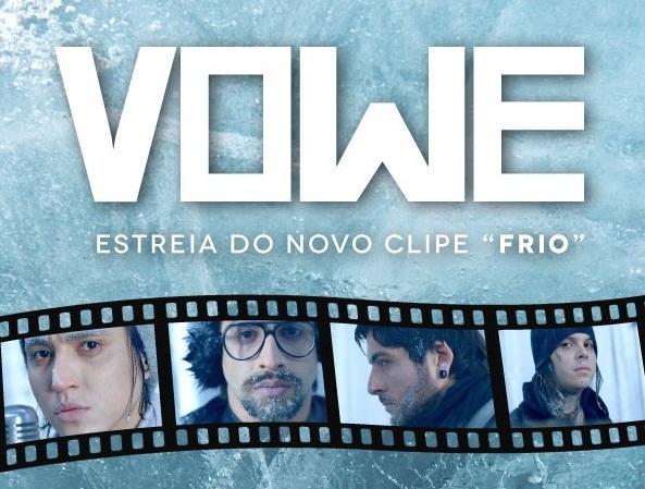 """VOWE lança clipe de """"Frio"""""""