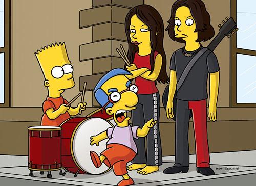 White Stripes nos Simpsons