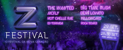Z Festival tem banner divulgado