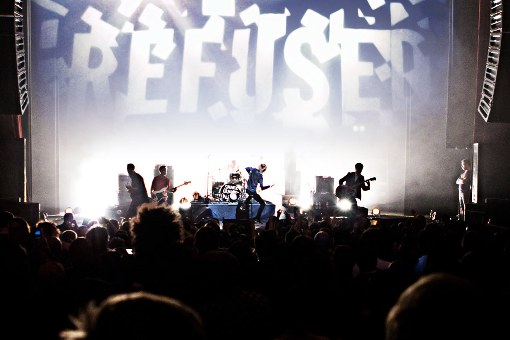 Confira show completo do Refused