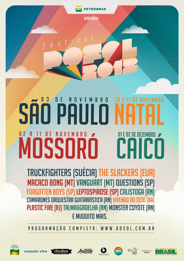 Festival Dosol 2012 acontece em quatro cidades do Brasil