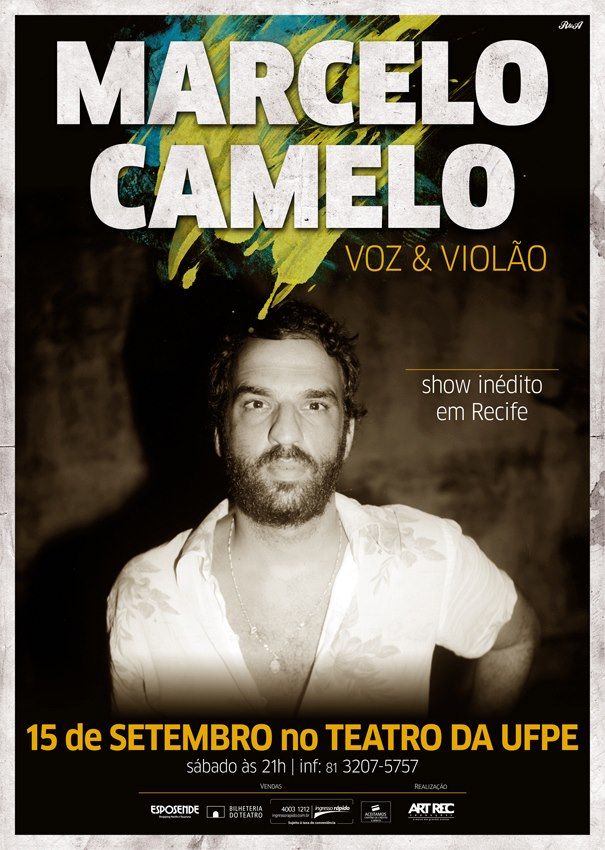 Marcelo Camelo se apresenta no Recife