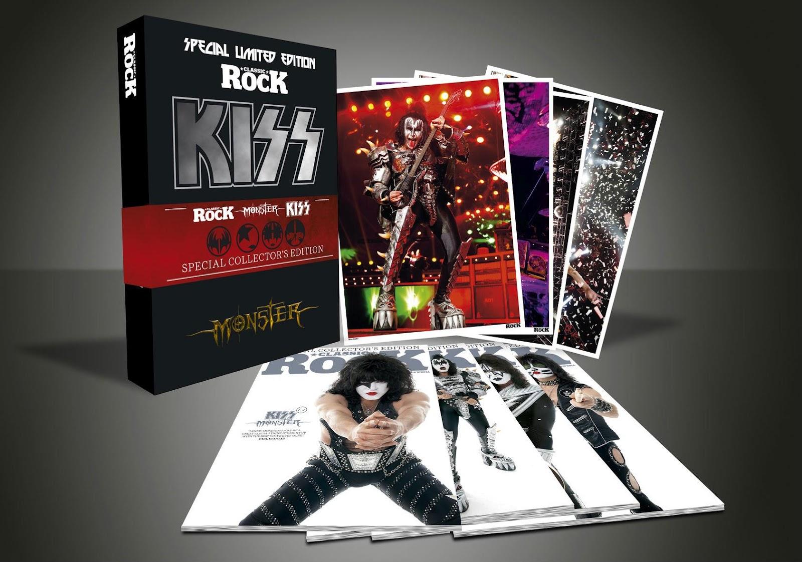 Novo disco do Kiss ganha edição especial
