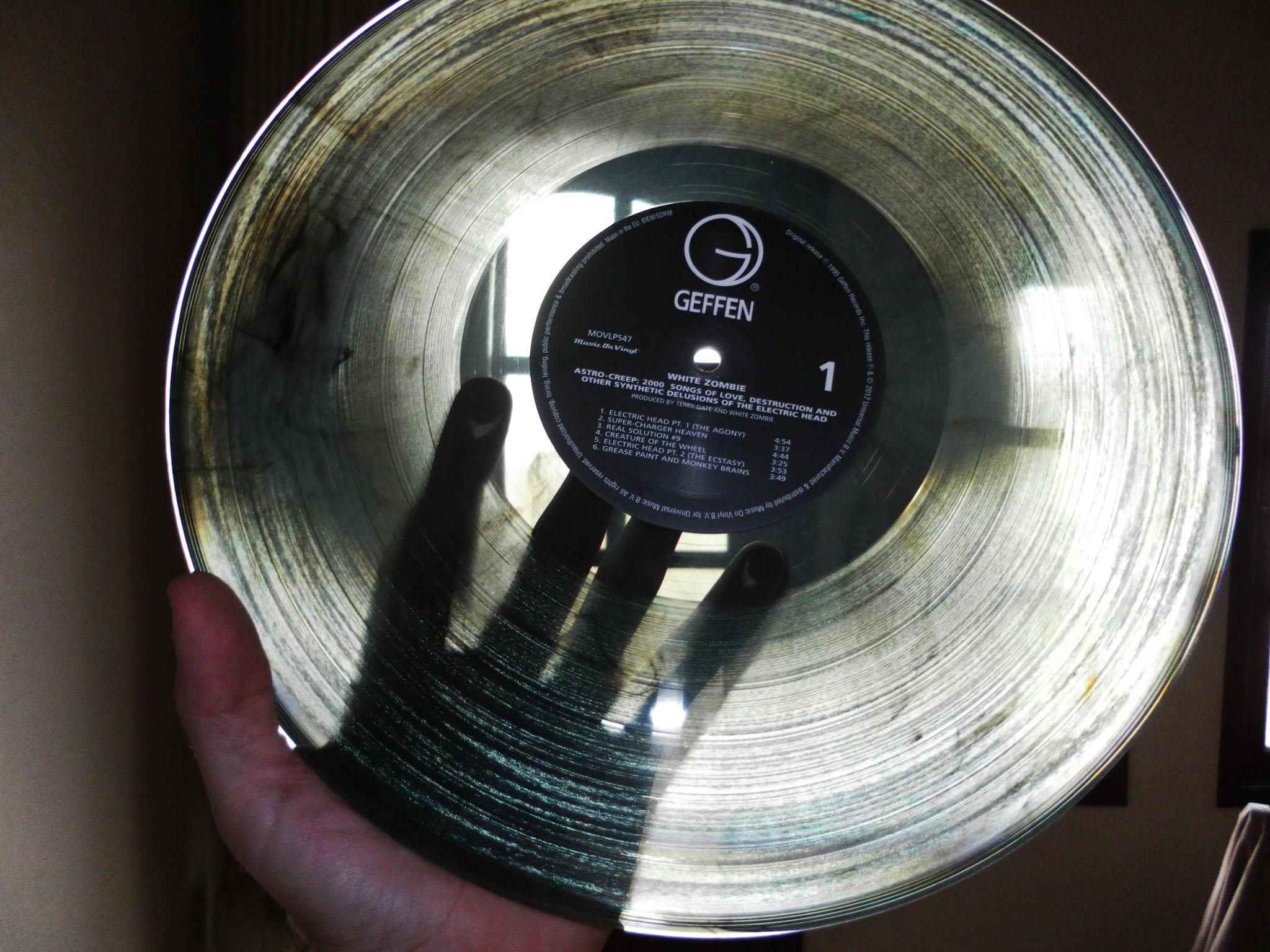 White Zombie Astro Creep 2000 Vinyl Repress 05