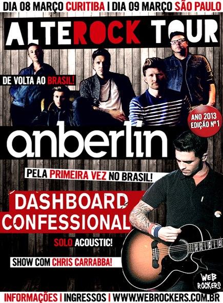 Alterock Tour poster