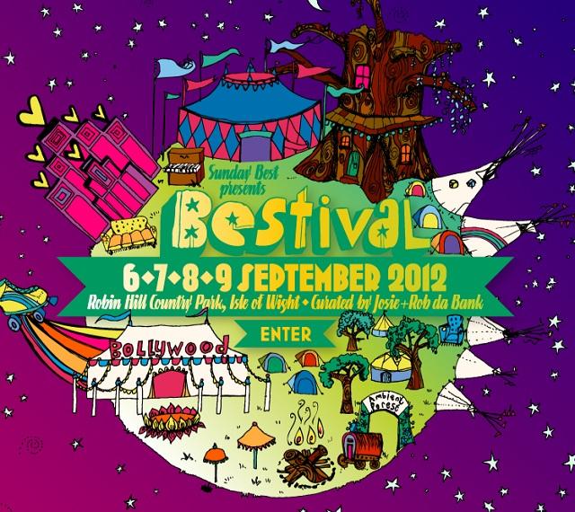 Bestival será transmitido ao vivo na internet
