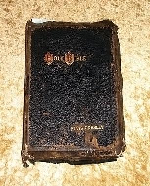Bíblia de Elvis Presley