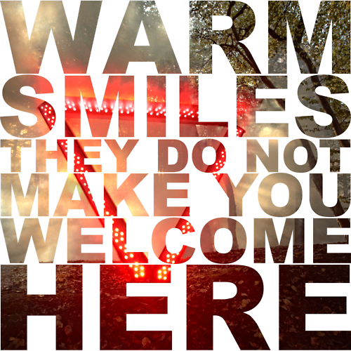 "Enter Shikari - ""Warm Smiles Do Not Make You Welcome Here"""