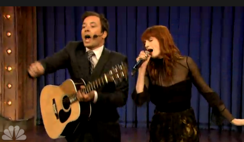 Florence And The Machine e Jimmy Fallon