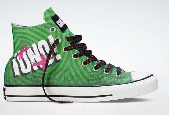 Converse baseado no design de ¡Uno!