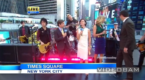 Green Day no Good Morning America