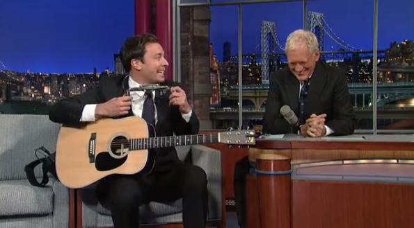 Jimmy Fallon canta música-tema de Fresh Prince Of Bel-Air