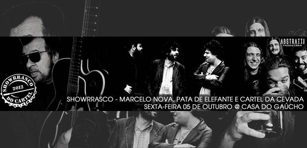 Marcelo Nova tocará em Showrrasco em Porto Alegre