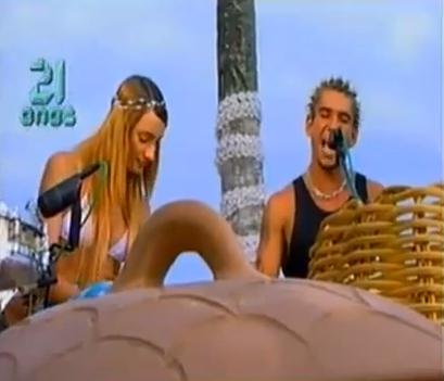 Raimundos no Luau MTV em 2000