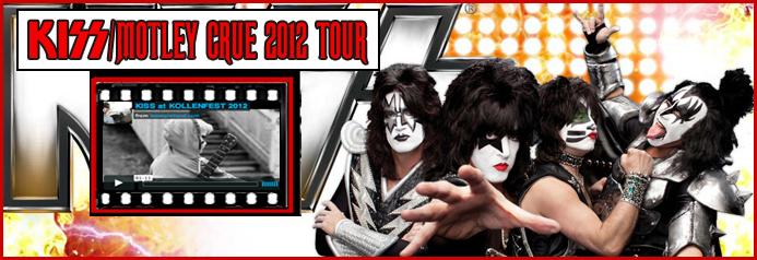 Turnê conjunta de KISS e Mötley Crüe passará pelo Brasil em 2012