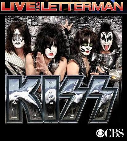50º Live on Letterman terá show do Kiss