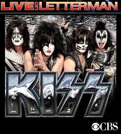 50º Live on Letterman terá show do Kiss
