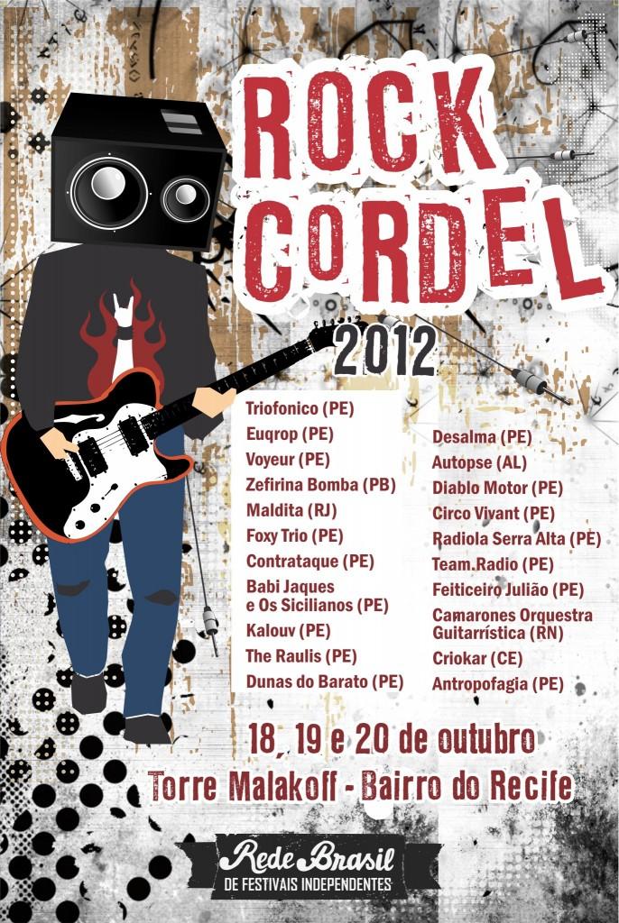 Confira as atrações do Festival Rock Cordel Recife