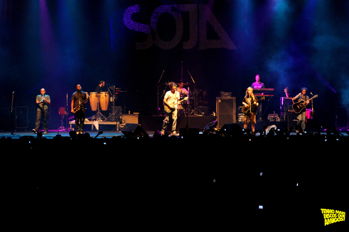 SOJA no Recife