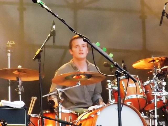 Sam Doyle do The Maccabees no Planeta Terra Festival 2012
