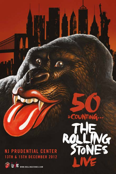 The Rolling Stones anuncia shows em Londres e Nova Jersey