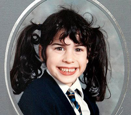 Amy Winehouse quando era criança