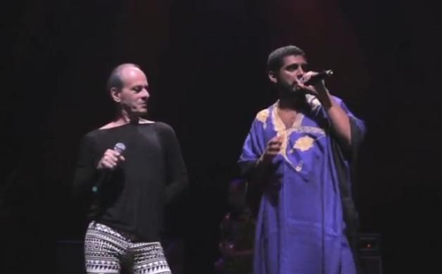 Assista à performance de Criolo e Ney Matogrosso no mesmo palco