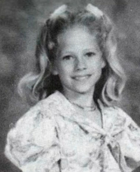 Avril Lavigne quando era criança