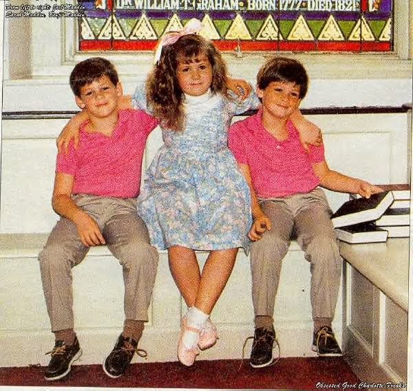 Benji e Joel Madden quando eram crianças