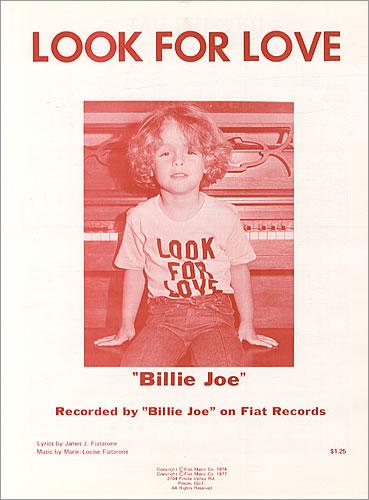 Billie Joe quando era criança
