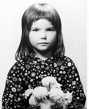 Bjork quando era criança