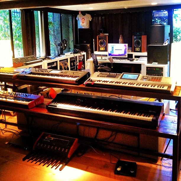 Blink-182 gravando novo disco