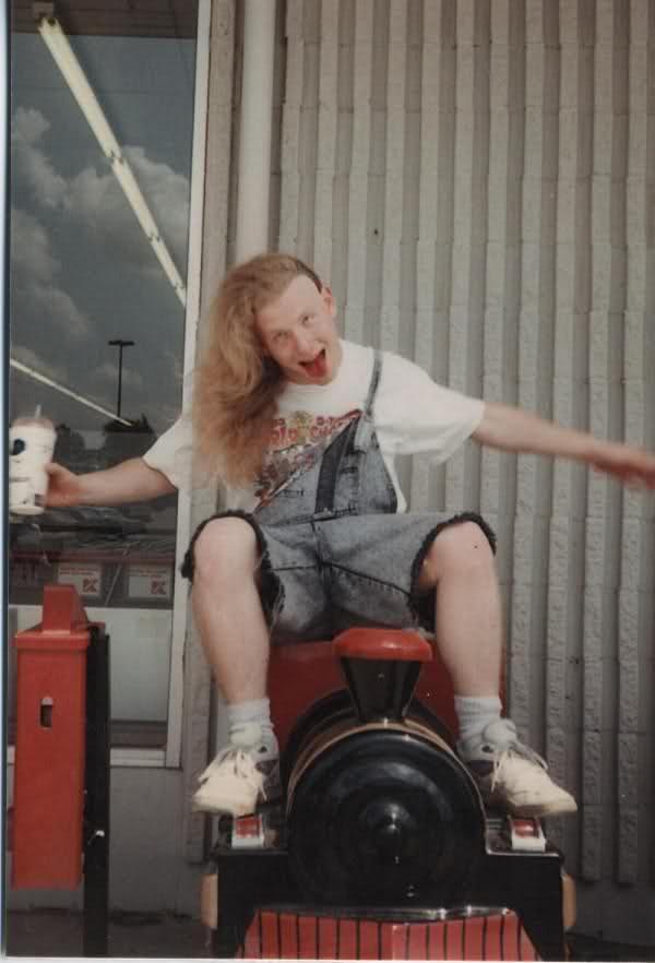 Corey Taylor quando era criança