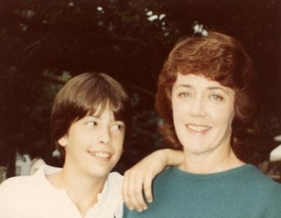 Dave Grohl quando era criança