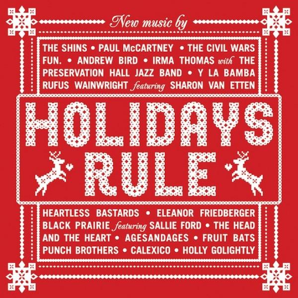 Disco de Natal do Starbucks - Holidays Rule