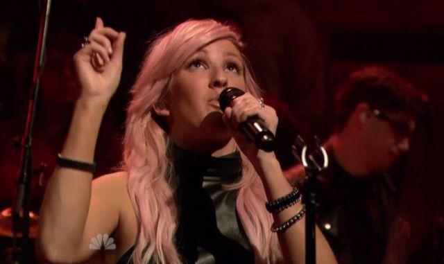 Ellie Goulding no programa de Jimmy Fallon