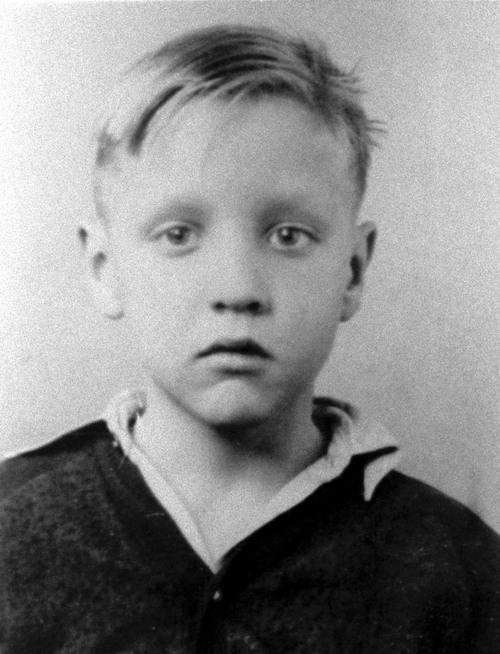 Elvis Presley quando era criança