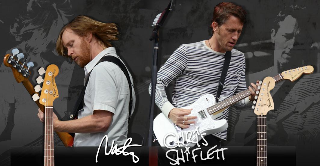 Fender lança instrumentos de integrantes do Foo Fighters