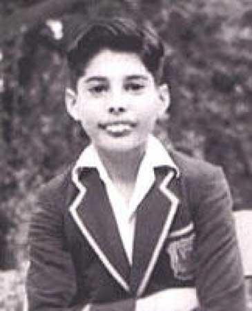 Freddie Mercury quando era criança